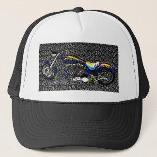 HIGH CONTRAST CHOPPER TRUCKER HAT
