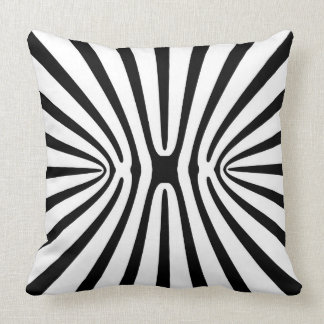 High Contrast Fractal Abstract 140717 Throw Pillow