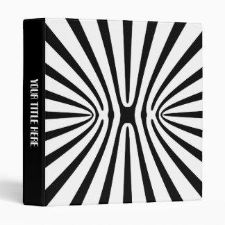 High Contrast Fractal Abstract 140717 Vinyl Binders