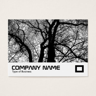 High Contrast Trees Business Card