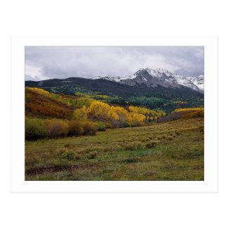 """High Country Autumn"" Postcard"