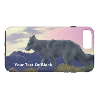 High Country Wolf iPhone 7 Plus Case