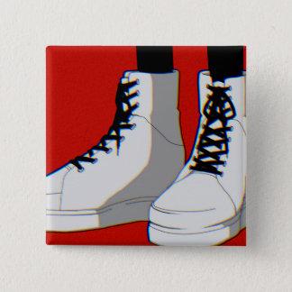 High cutting 2 inch square button