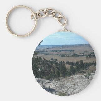High Desert Hills Keychain