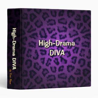High Drama Diva Binder