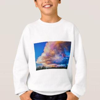 High Elevation Forest Sunset Sky Timed Stack Sweatshirt