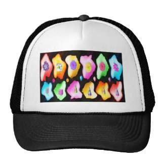 High Energy Color Patterns Trucker Hat