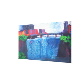 High Falls (2003) Canvas Print