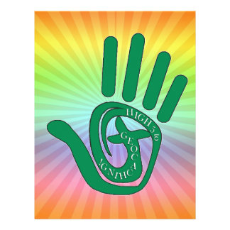HIGH FIVE 5 TO GEOCACHING LETTERHEAD