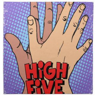 High Five Day Printed Napkin