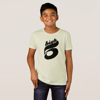 High Five Organic T-Shirt for Boys
