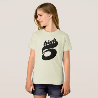 High Five Organic T-Shirt for Girls