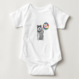 High Five - To our Canadian Athletes Baby Bodysuit