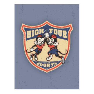 High Four Sports Postcard