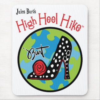 HIGH HEEL HIKE MOUSE PAD
