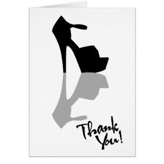 HIGH HEEL - PUMP IT UP THANK YOU CARD