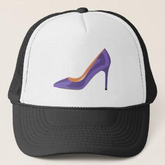 High Heel Shoe in Ultra Violet Trucker Hat