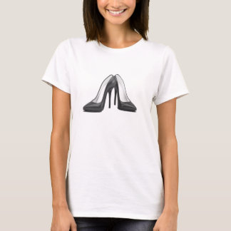 High Heel Shoes Tee in Black