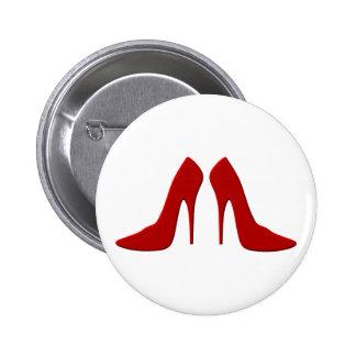 high heels 2 inch round button