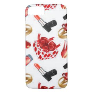High Heels Cosmetic Diamond Ring Wrap Box iPhone 8/7 Case