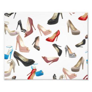High Heels Shoes Photo Print
