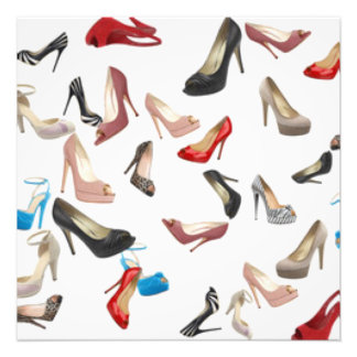 High Heels Shoes Photo Print