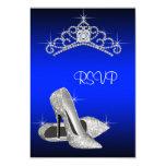 High Heels Tiara Royal Blue Quinceanera RSVP