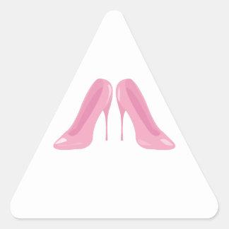 High Heels Triangle Sticker