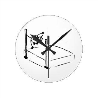 High Jump StickMan Track and Field Round Clock