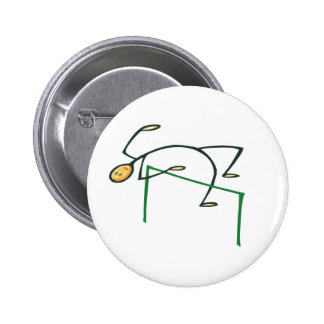 High Jump T-shirts and Gifts. 2 Inch Round Button
