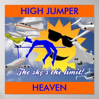 HIGH JUMPER HEAVEN POSTER