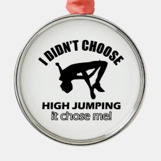 HIGH JUMPING DESIGNS METAL ORNAMENT