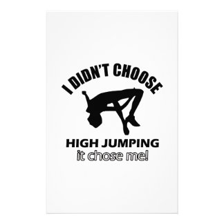 HIGH JUMPING DESIGNS STATIONERY