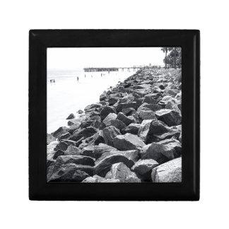 High Key Atlantic Ocean Sea Wall Landscape Gift Box