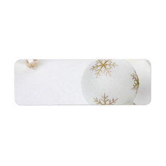 High Key Christmas Ornament Holiday Template