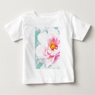 High Key Pink Peony Flower Baby T-Shirt