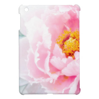 High Key Pink Peony Flower iPad Mini Case