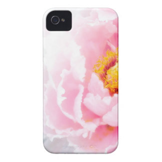 High Key Pink Peony Flower iPhone 4 Covers