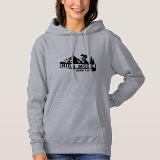 High More Worry Less Hoodie