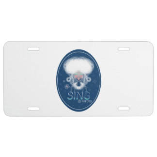 High Notes Sing For Joy License Plate