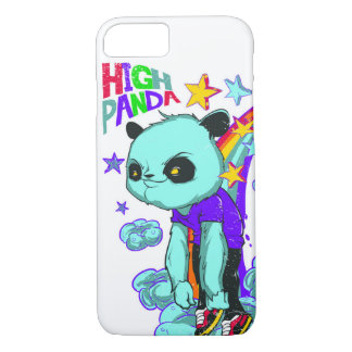 High Panda Glossy Phone Case