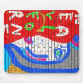 High Priestess Face Never Alone Graffiti Art Mouse Pad
