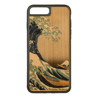 High Quality Great Wave off Kanagawa by Hokusai Carved iPhone 8 Plus/7 Plus Case
