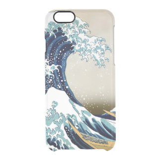 High Quality Great Wave off Kanagawa by Hokusai Clear iPhone 6/6S Case
