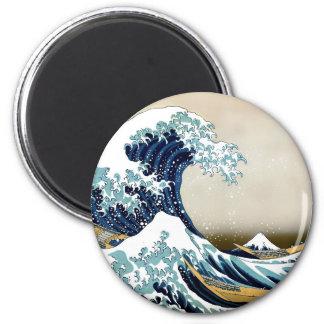 High Quality Great Wave off Kanagawa by Hokusai Magnet
