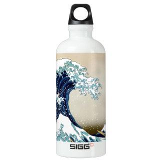 High Quality Great Wave off Kanagawa by Hokusai Water Bottle