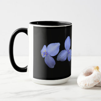 High Quality Spiderwort Flower Coffee Cups