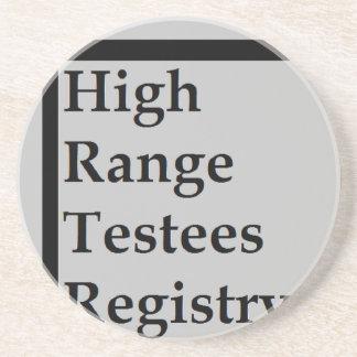 High Range Testees Registry (HRTR) Coaster