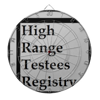 High Range Testees Registry (HRTR) Dartboard