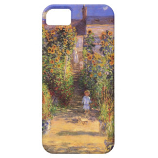 High Res Claude Monet  Seine bank at Vetheuil iPhone 5 Covers
